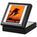 Industrial Progress Trap Keepsake Box