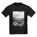 Clearcut Progress Trap Kids Dark T-Shirt