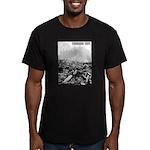 Clearcut Progress Trap Men's Fitted T-Shirt (dark)