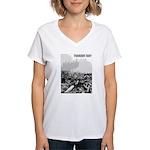 Clearcut Progress Trap Women's V-Neck T-Shirt