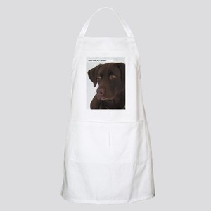 Gotta have my Chocolate. BBQ Apron