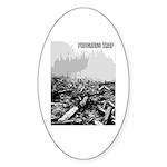 Clearcut Progress Trap Sticker (Oval 50 pk)