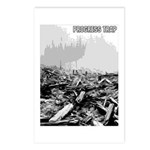 Clearcut Progress Trap Postcards (Package of 8)