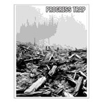 Clearcut Progress Trap Small Poster