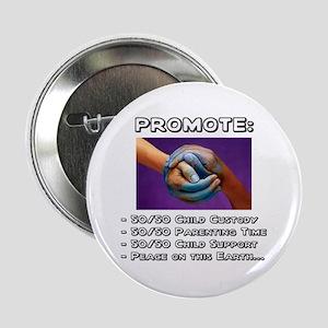 Promote 50/50 World Black Button
