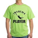 I'm a bit of a player goal keeper Green T-Shirt