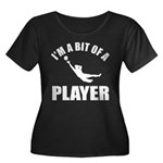 I'm a bit of a player goal keeper Women's Plus Siz