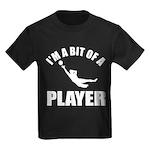 I'm a bit of a player goal keeper Kids Dark T-Shir