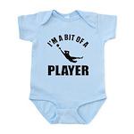 I'm a bit of a player goal keeper Infant Bodysuit