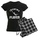 I'm a bit of a player goal keeper Women's Dark Paj