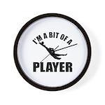 I'm a bit of a player goal keeper Wall Clock
