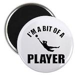 I'm a bit of a player goal keeper Magnet