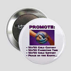 Promote 50/50 World Purple Button