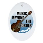 Beyond the border Ornament (Oval)