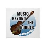 Beyond the border Throw Blanket