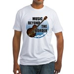 Beyond the border Fitted T-Shirt