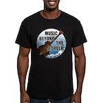 Beyond the border Men's Fitted T-Shirt (dark)