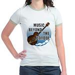 Beyond the border Jr. Ringer T-Shirt