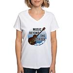 Beyond the border Women's V-Neck T-Shirt