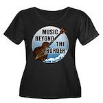 Beyond the border Women's Plus Size Scoop Neck Dar