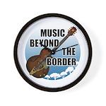 Beyond the border Wall Clock