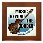 Beyond the border Framed Tile