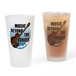 Beyond the border Drinking Glass