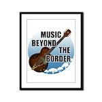 Beyond the border Framed Panel Print