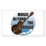 Beyond the border Sticker (Rectangle)