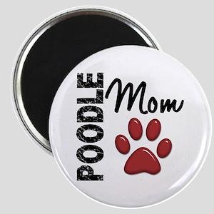 Poodle Mom 2 Magnet