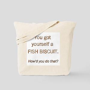 Fish Biscuit Tote Bag