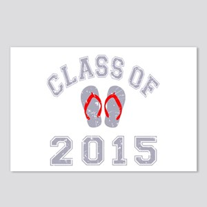 Class Of 2015 Flip Flop Postcards (Package of 8)
