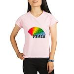 Rainbow Peace Performance Dry T-Shirt