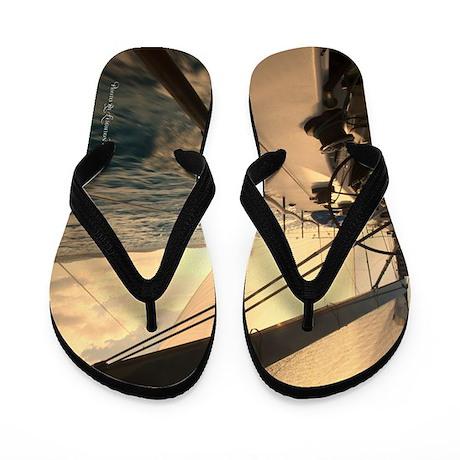 St. Thomas Sunset Flip Flops