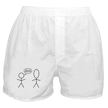 Why the long face? Boxer Shorts