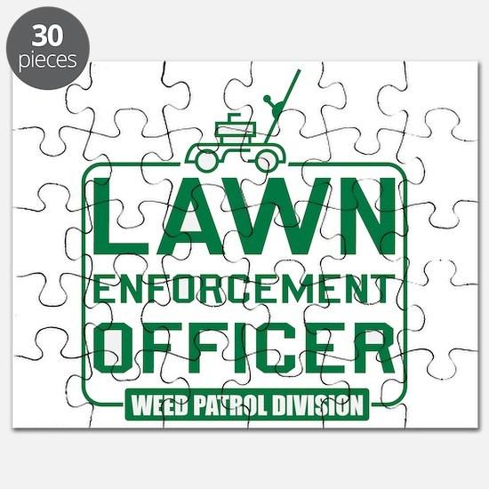 Lawn Enforcement Officer Puzzle