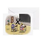 Mean Teacher Greeting Cards (Pk of 10)