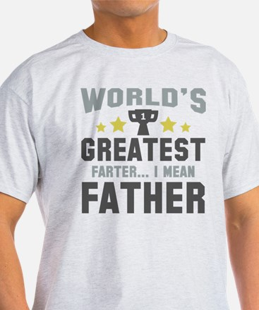 World's Greatest Farter T-Shirt