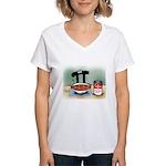 Variable Soup Women's V-Neck T-Shirt