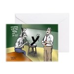 Interrogation Greeting Cards (Pk of 20)