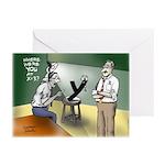 Interrogation Greeting Cards (Pk of 10)