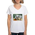 Interrogation Women's V-Neck T-Shirt