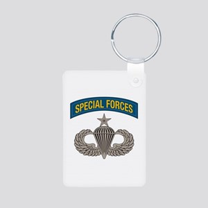 Airborne Special Forces Senior Aluminum Photo Keyc