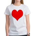 Red Heart Women's T-Shirt