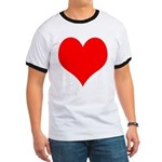 Red Heart Ringer T