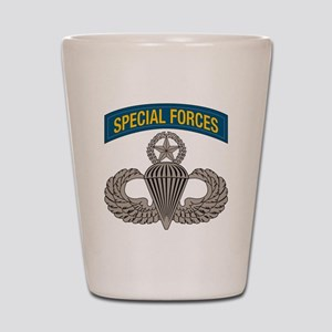 Airborne SF w Master Wings Shot Glass
