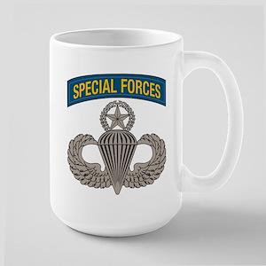 Airborne SF w Master Wings Large Mug