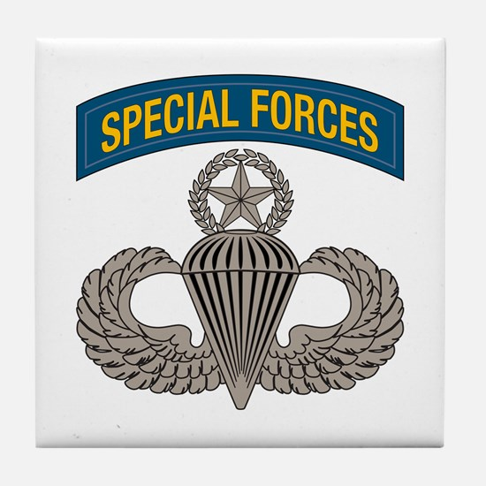 Airborne SF w Master Wings Tile Coaster