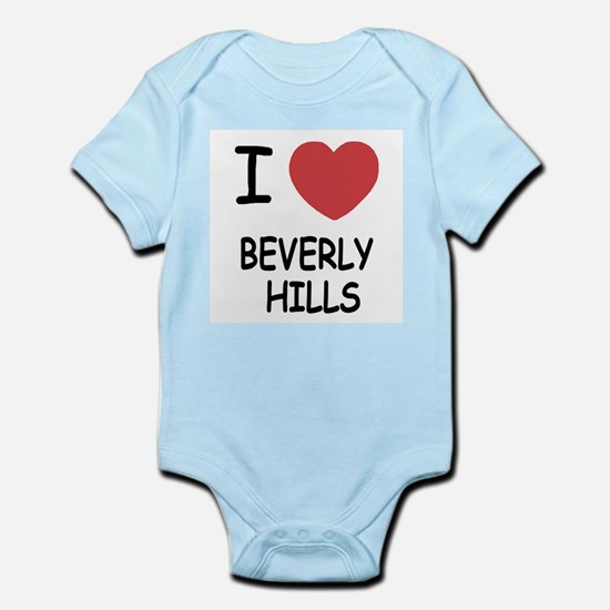 I heart beverly hills Infant Bodysuit