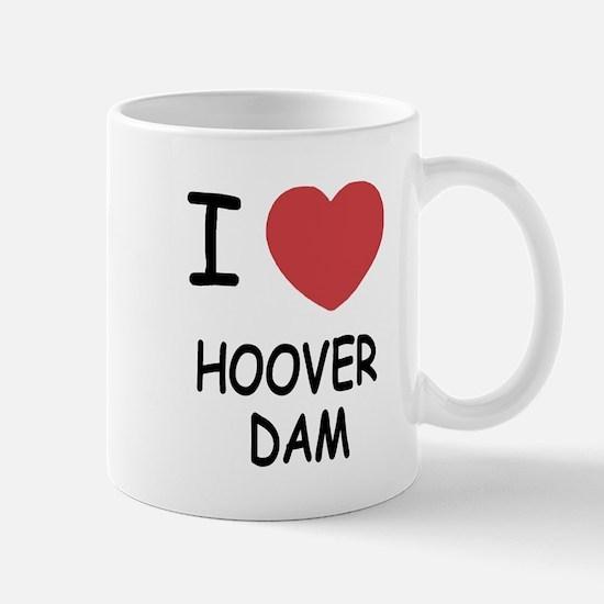 I heart hoover dam Mug